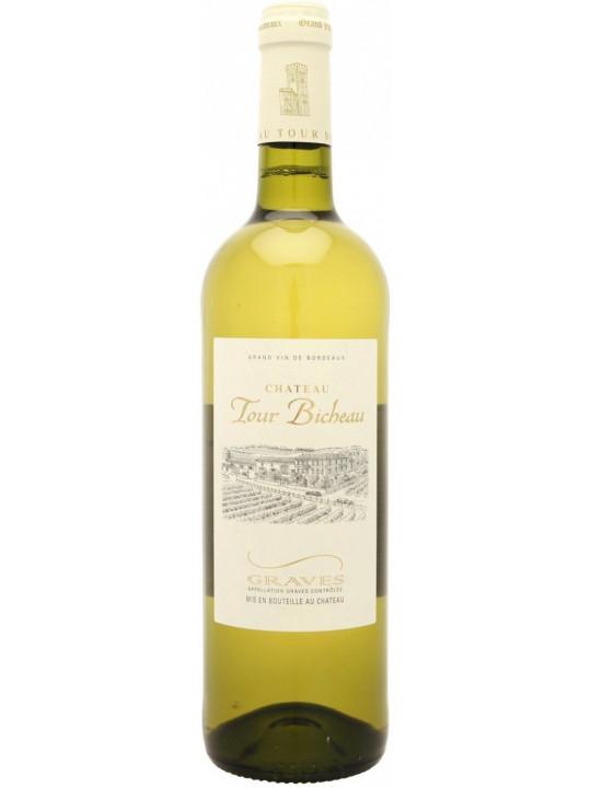 Вино Chateau Tour Bicheau Blanc, Graves AOC 2017 0.75 л