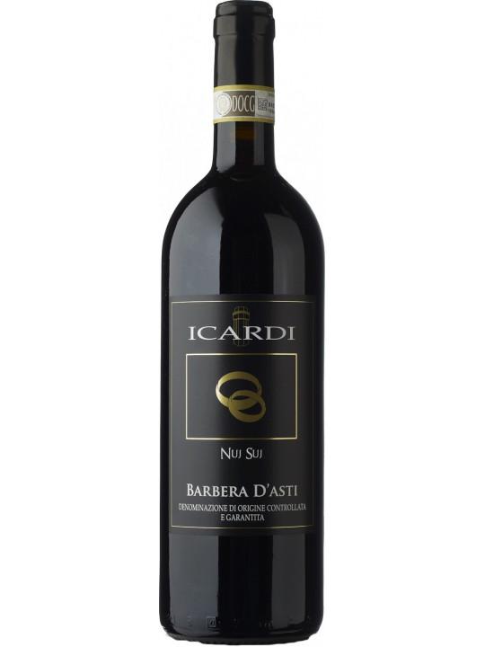 Вино Nuj Suj, Barbera d'Asti DOC 2011 0.75 л