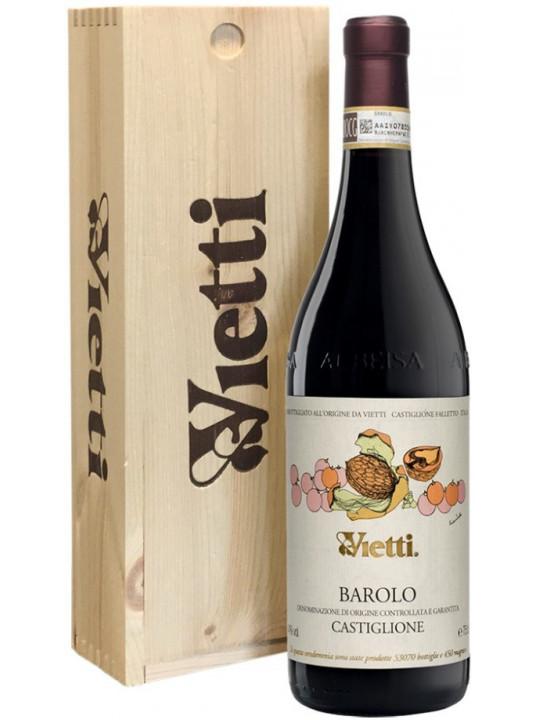 Вино Vietti, Barolo Castiglione DOCG, wooden box 2012 0.75 л