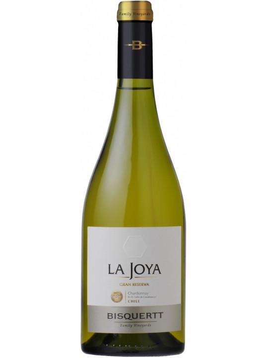 Вино Bisquertt, La Joya Gran Reserva, Chardonnay, Colchagua Valley DO 2018 0.75 л