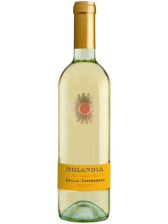 Вино Solandia Grillo-Chardonnay, Terre Siciliane IGT 2016 0.75 л