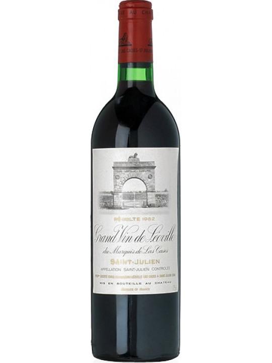 Вино Chateau Leoville Las Cases Saint -Julien AOC 2-eme Grand Cru Classe 2014 0.75 л