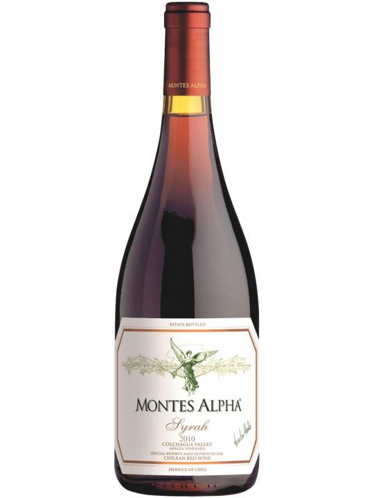 Вино Montes, Alpha Syrah 2010 0.75 л